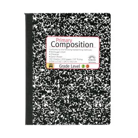 Norcom 100 Sheets Primary Composition Book, 9.75
