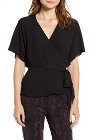 Chelsea28 Wrap Style Top