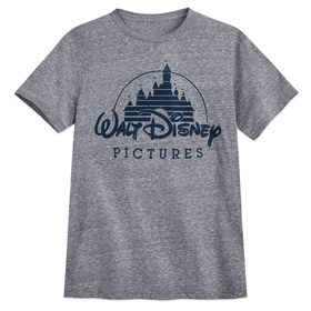 Disney Walt Disney Pictures Logo T-Shirt for Men –