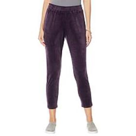 """""""As Is"""" ModernSoul® Velour Pull-On Pant"""