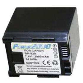 Power2000 BP-820 Replacement Lithium-Ion Camcorder