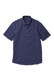 Zachary Prell Dean Windowpane Print Sport Shirt