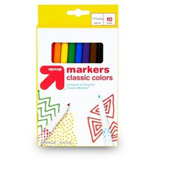 10ct Markers Fine Tip Classic Colors - Up&Up&#