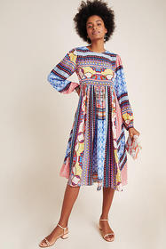Anthropologie Marcelina Midi Dress