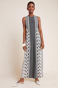Anthropologie Hayes Geometric Wide-Leg Jumpsuit