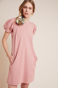 Anthropologie Mollie Puff-Sleeved Tunic