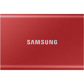 Samsung 500GB T7 Portable SSD (Red)