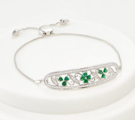 """As Is"" Solvar Sterling Silver Clover and Shamrock"
