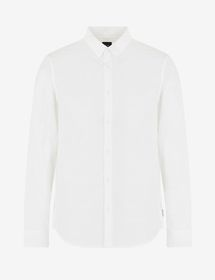 Armani SLIM-FIT ALL-OVER LOGO SHIRT