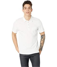7 For All Mankind Boxer Four-Button Polo