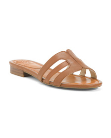 VINCE CAMUTO Leather Flat Sandals