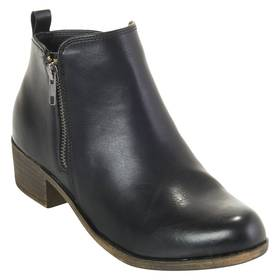 Womens Dunes Dolly Ankle Boots - Black
