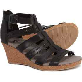 Earth Woodland Sunny Wedge Sandals - Leather (For