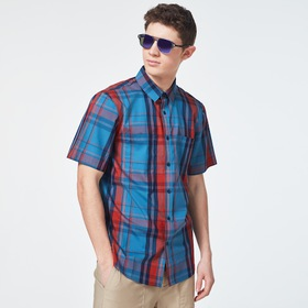 Oakley Beyond Basic Check Short Sleeve Shirt - Ora
