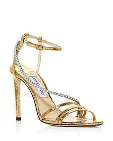 Jimmy Choo - Women's Thaia 100 Strappy High-Heel S