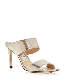 Jimmy Choo - Women's Hira 85 High-Heel Slide Sanda