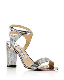 Jimmy Choo - Women's Marine Leather High-Heel Sand