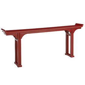 Ananda Console Table - Red