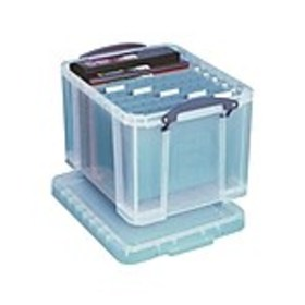 Really Useful File Box, Clear (32CL)