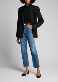 RE/DONE 70s Ultra High-Rise Stovepipe Jeans