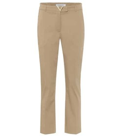 Valentino VGOLD stretch-cotton pants