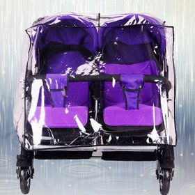 Twins Baby Stroller Rain Cover Double Infant Pushc