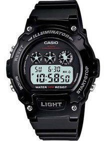 Casio Men's Glossy Resin Digital Sport Watches W21