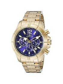 Invicta Men's 21465 Specialty Chrono 18K Gold Plat