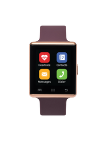 iTouch Air 2 Smartwatch 41mm Rose Gold Case with M