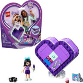 Title: LEGO Friends Emma's Heart Box 41355