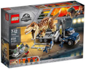 Title: LEGO Jurassic World 75933 T.Rex Transport (