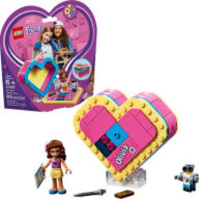 Title: LEGO Friends Olivia's Heart Box 41357
