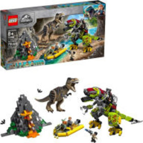 Title: LEGO Jurassic World T. rex vs Dino-Mech Bat
