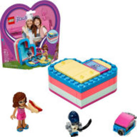 Title: LEGO Friends Olivia's Summer Heart Box 4138