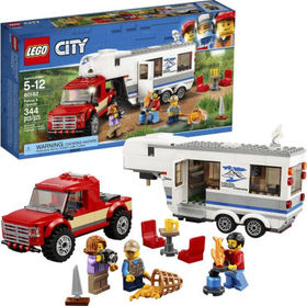 Title: LEGO City Great Vehicles Pickup & Caravan 6