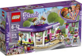 Title: LEGO Friends Emma's Art Cafe 41336