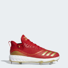 Adidas Men's Baseball Red Icon V Cleats