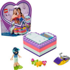 Title: LEGO Friends Emma's Summer Heart Box 41385