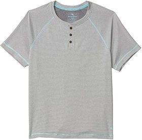 Tommy Bahama Poly Wicking Double Knit Henley