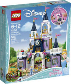 Title: LEGO Disney Princess Cinderella's Dream Cas