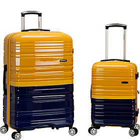 Rockland Luggage Melbourne 2-Piece Spinner Luggage