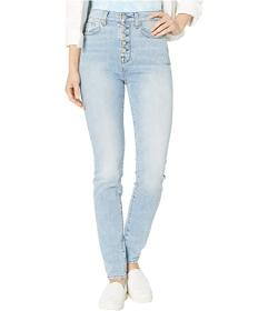 7 For All Mankind High-Waist Skinny w\u002F Expose