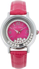 Betsey Johnson Moving Crystals Watch