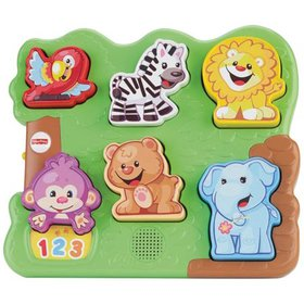Fisher-Price Laugh & Learn Zoo Animal Puzzle, Teac