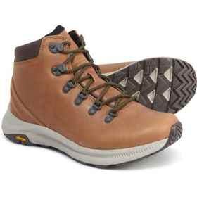 Merrell Sugar Ontario Mid Hiking Boots - Leather (