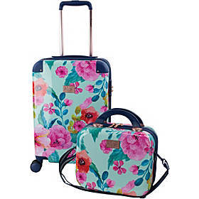 Chariot Park Avenue Floral 2PC Hardside Luggage Se