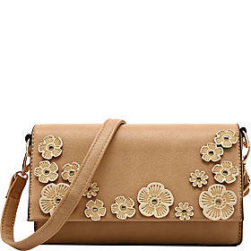 MKF Collection by Mia K. Farrow Allie Floral Appli