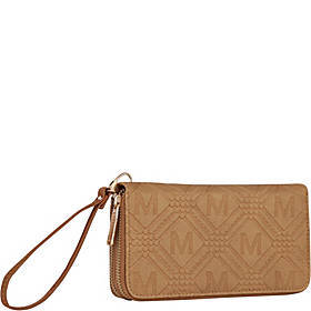 MKF Collection by Mia K. Farrow Embossed M Signatu