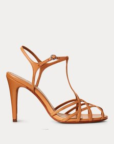 Ralph Lauren Freida Leather Sandal