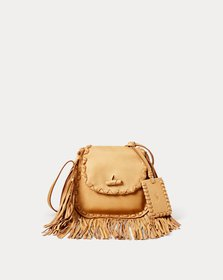 Ralph Lauren Leather Ridgeway Crossbody Bag